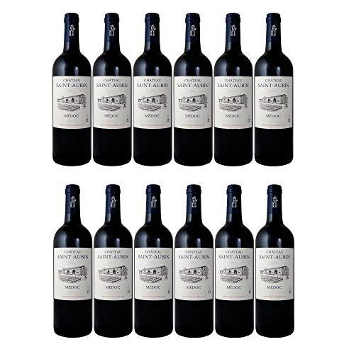 Château Saint-Aubin Cru Bourgeois Médoc AOC Rotwein Wein trocken Frankreich (12 Flaschen)
