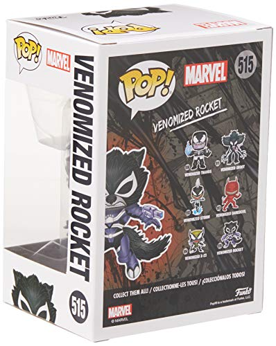 Funko Pop Rocket Venomizado (Venom 515) Funko Pop Marvel