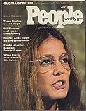 PEOPLE 9/23 1974 Gloria Steinem Sinatra Iacocca Andre Previn Rodney Allen Rippy