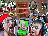 Hello Granny: Hello Neighbor x Granny's House Mod Mini Game!
