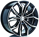 RTX Black Widow Alloy Wheel/Rim Size 16x7 Bolt Pattern 5x112 Offset 40 Center Bore 57.1 Black Machined Face Center Caps Included Lug Nuts NOT Included (Rim Priced Individually)