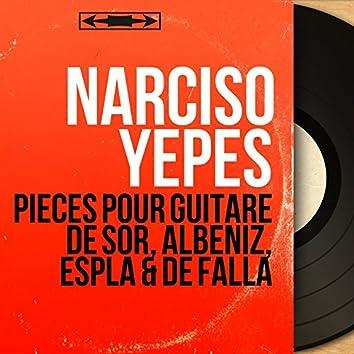Pièces pour guitare de Sor, Albéniz, Esplá & de Falla (Mono Version)