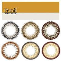 フェミー バイ エンジェルカラー Femii by Angelcolor 1day 10枚入 -4.50 ネイキッドブラウン