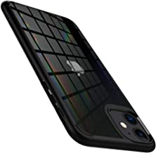 Spigen Ultra Hybrid Kompatibel mit iPhone 11 Hülle, Einteilige Transparent PC Rückschale Handyhülle für iPhone 11 Case Matte Black 076CS27186