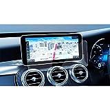 【LFOTPP】新型 メルセデス ベンツ Benz C-Class 10.25インチ ガラスフィルム ナビ保護フィルム 高透明 高感度タッチ 気泡ゼロ キズ防止 自己吸着タイプ 貼り付け簡単 9H