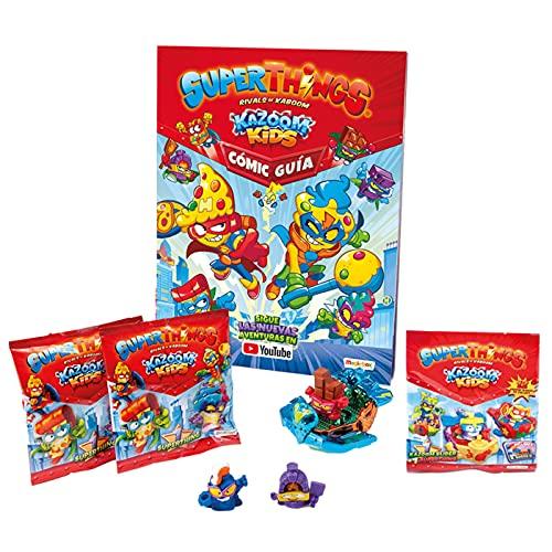 Starter Pack Superthings Kazoom Kids Cómic-Guía Superthings Kazoom Kids Superzings Serie 8