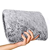 Heated Hot Water Bottle with Soft Fleece Cover, Toyuugo Warming Hand and Relieve Menstrual Cramps or Muscle Aches & Back Pains as Electric Heating pad for Winter Gift(Rechargeable and Portable) (Gray)