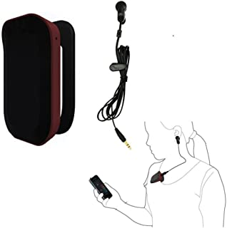 DGYAO Bluetooth 4.0 Mobile Heart Rate Monitor Fitness Penetrable Ear Clip Heart Rate Sensor for Android4.3/iOS 7.0 or Later Real Time Heart Rate Variability Monitor