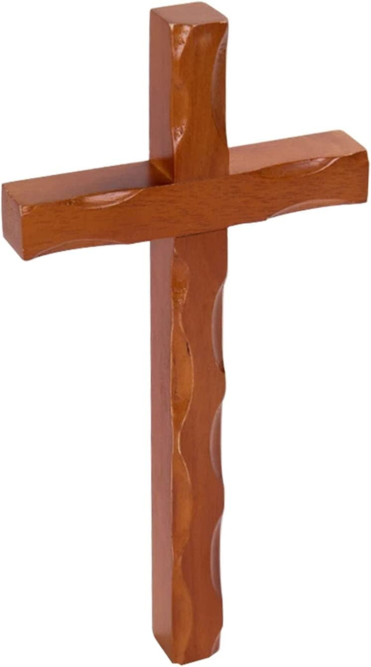 Christian Decor Wall Cross Hanging Durable Selling rankings W Topics on TV Ornament Mysterious