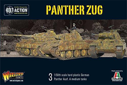 Bolt Action - Panther Zug - 1 / 56e échelle -. Warlord Jeux