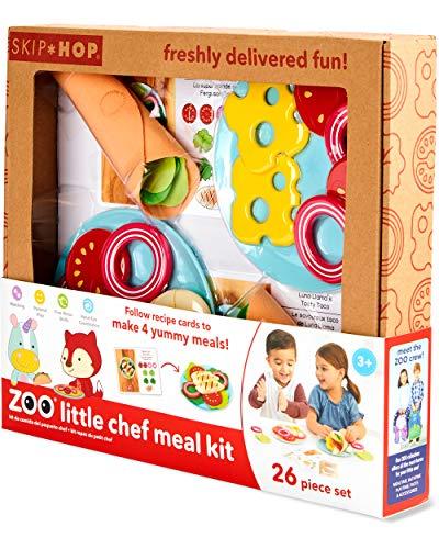 Skip Hop Zoo Little Chef Meal Kit, Play Food Set