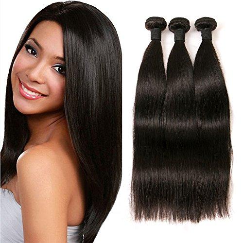 Peruvian Straight Human Hair Extensions Echthaar 300g Langes Echt Haare Verlängerung Weft Remy Extensions Echthaar Zum Einnähen Schweißen Dickes Haar 8 10 12 Inches