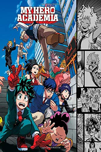 my hero academia vol. 24: manga my hero academia 24 Notebook