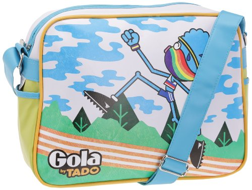 Gola Tasche Redford Track Blue/White/Lime
