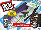 TECH DECK, Nyjah Skatepark X-Connect Park Creator, Massive Customizable Skatepark Ramp Set with Exclusive Fingerboard, Kids Toy for Ages 6 and up