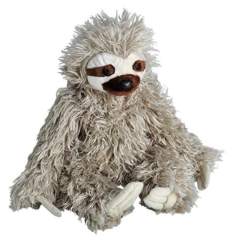 Wild Republic Cuddlekin Three Toed Sloth 12' Plush, Cuddlekins (12257)