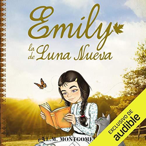 Diseño de la portada del título Emily, La De Luna Nueva (Narración en Castellano)