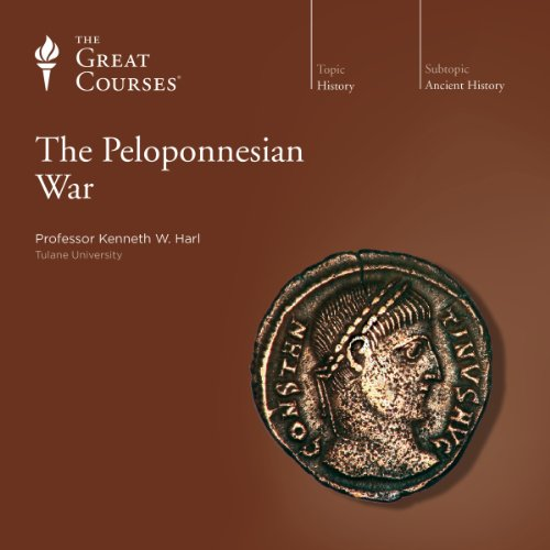 The Peloponnesian War audiobook cover art