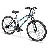 Huffy Hardtail Mountain Bike, Summit Ridge 24-26 inch 21-Speed, Lightweight...