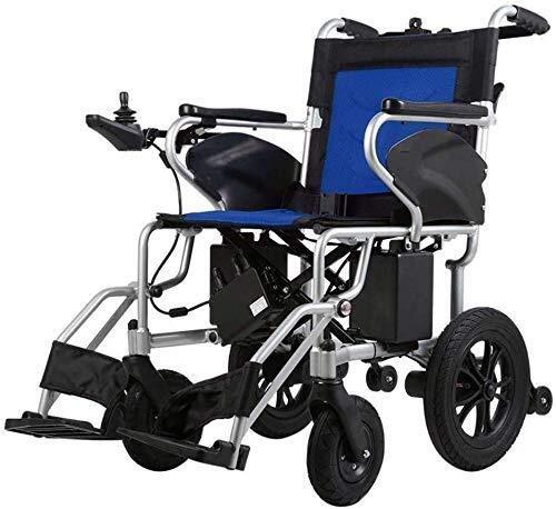 CENPEN Rollstühle Motion Healthcare Lite Trekker Powerchairs – Elektrischer Rollstuhl für Erwachsene, zwei Hochgeschwindigkeitsmotoren, Blueb,