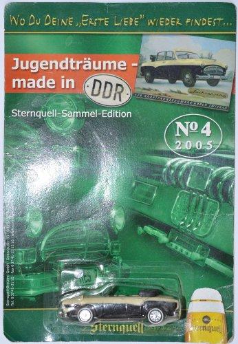 DDR-Pkw-Modell der Brauerei Sternquell Sachsenring P240 Cabriolet Nr. 04/2005