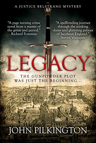 Legacy: A Justice Belstrang Mystery (Justice Belstrang Mysteries Book 1)