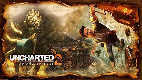 Uncharted 2 Among Thieves 1000 Piezas Puzzle para Adultos,Ma