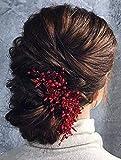 Deniferymakeup Brautschmuck Haarkamm Roter Haarkamm Goji Beeren Haarschmuck Brautschmuck Cranberry Braut Kopfbedeckung Herbst Hochzeit...