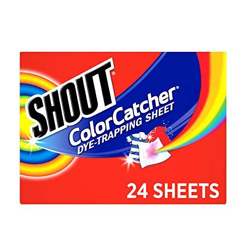 Shout Color Catcher Sheets for Laundry, Maintains...
