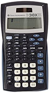 Texas Instruments TI-30X IIS - Calculadora (bolsillo, Scientific calculator, Negro, De plástico)