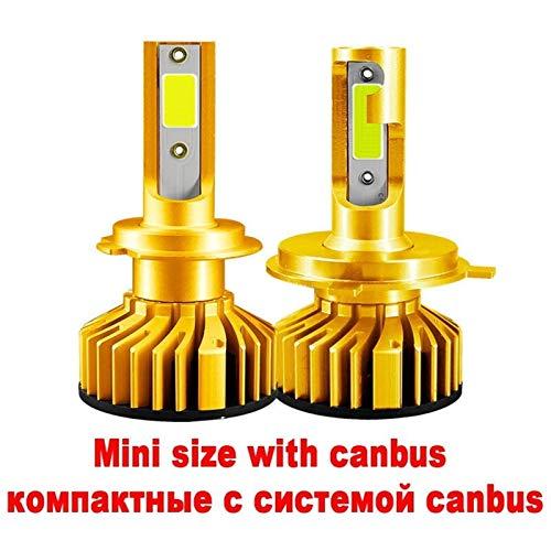 XIAOYAFANG Hxfang Mini Canbus Lampada H4 H7 LED Faro De Coche 16000LM 4300K 6000K 8000K Lámpara H1 9005 HB3 9006 HB4 H8 H9 H1 H11 Fog Bulbs Ahora Caliente