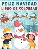 Feliz Navidad Libro De Colorear: 40 Hermosos Dibujos Navideños Para Colorear  ...