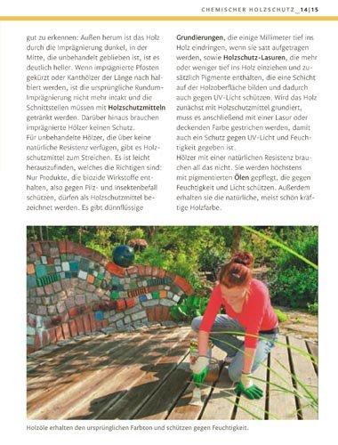 Selber bauen mit Holz im Garten