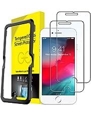 JETech Schermbeschermer Compatibel met iPhone 8 Plus, iPhone 7 Plus, iPhone 6s Plus en iPhone 6 Plus, Gehard Glas Screen Protector, 2-Stuks