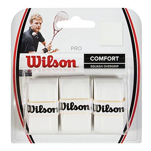 Wilson Griffband, Pro Overgrip, Ersatzgriffbänder, 3 Stück, Weiß, WRR937000