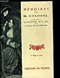 Memoires de m. goldoni