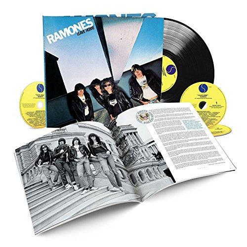 Ramones' 40th Anniversary of Leave Home: Hardbook Edition, 3CD/1LP Vinyl-set (UK Edition)