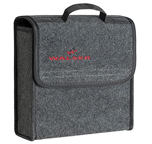 WALSER borsa baule Toolbag taglia S, organizzatore baule in feltro agugliato, borsa auto, borsa portaoggetti, borsa portabagagli 29x28x13 cm