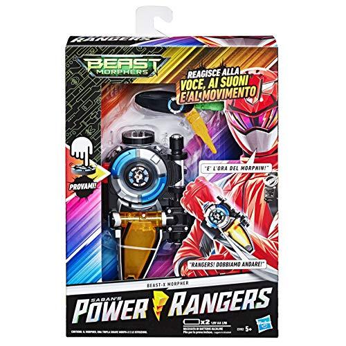 Hasbro Power Rangers, Beast-X Morpher, ITALIENISCHE VERSION, Spielzeug für Kinder ab 5 Jahren
