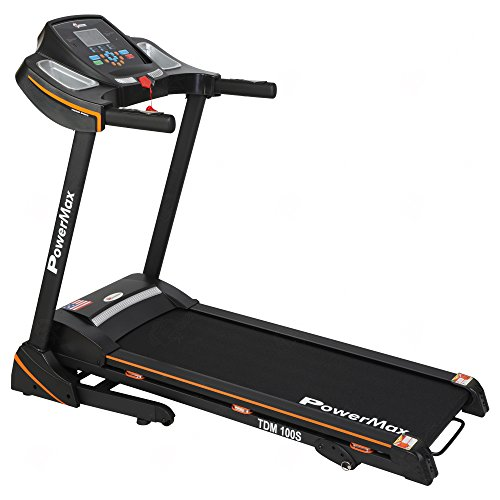 Powermax Fitness TDM-100S (2.0 HP) Motorized Treadmill with...