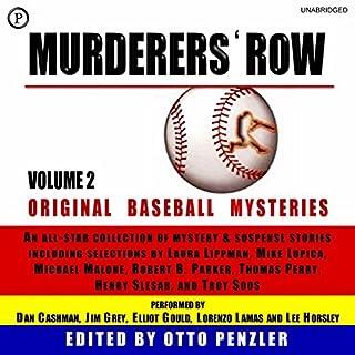 Murderers' Row: Original Baseball Mysteries, Volume 2 audiobook cover art