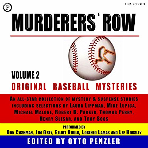 Murderers' Row: Original Baseball Mysteries, Volume 2 audiobook cover art