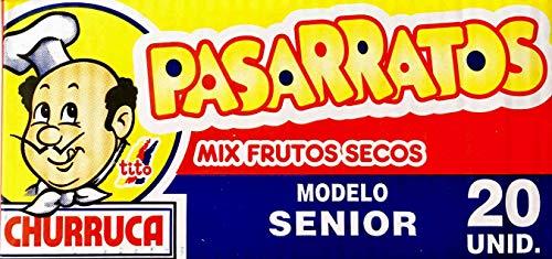 Churruca Pasarratos Senior Mix de Frutos Secos con Miel - 20 Unidades, 59 g