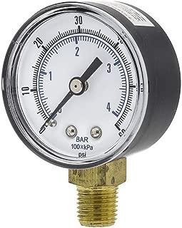 PIC Gauges SEP-101D-204D Utility Gauge Plastic CASE, 3-2-3% Accuracy