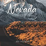 """Nevada 2022 Calendar: From January 2022 to December 2022 - Square Mini Calendar 7x7"""" - Small Gorgeous Non-Glossy Paper"""