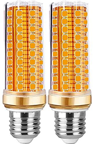 Bombillas Led E27 Luz Calida 20W - Bombilla E27 Led Maíz Incandescente equivalente a 200W, 2700K Cálido 2000LM, Tornillo Edison bombillas,No regulable - 2 unidad