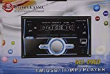 QMPL Exo Double Din Car Stereo 3800 with Bluetooth, (Black, 3800 DD BT)