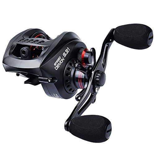 KastKing Speed Demon 9.3:1 Baitcasting Reel,Right Handed Reel