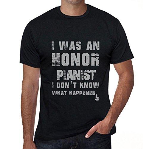 One in the City Pianist, What Happened, Camiseta Hombre, Camiseta con Palabras, Regalo Camiseta
