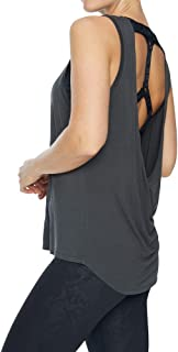 Rockwear Activewear Women's Inspire Drape Elastic Back Tank Khaki 6 from Size 4-18 for Singlets Tops